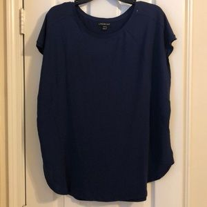 Lane Bryant Soft Tee Navy Blue Size 18/20